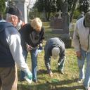 Volunteers Clean Up Cemetery photo album thumbnail 1